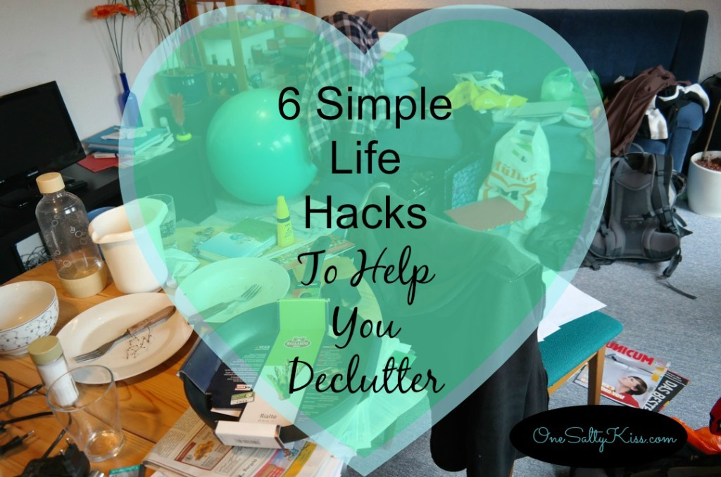 Simple life hacks that can help you declutter and make room for joy.